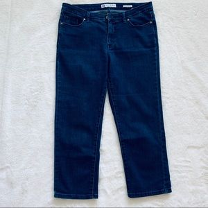 Anne Klein Slim Straight Jeans